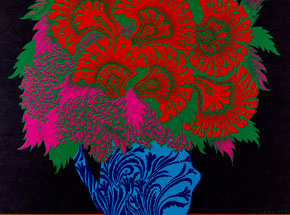 Art by Victor Moscoso - Blue Cheer, Lee Michaels at Avalon Ballroom - October 1967