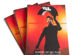 Book by vna Magazine - Issue 26: Robert '3D' Del Naja