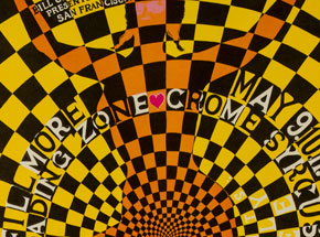 Art by Weisser - Chrome Syrcus, Loading Zone at the Fillmore  - May 1968