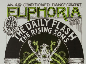 Art by Wes Wilson - Euphoria - The Daily Flash, The Rising Sons