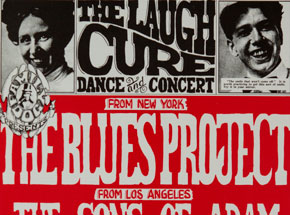 Art by Wes Wilson - The Laugh Cure Dance and Concert