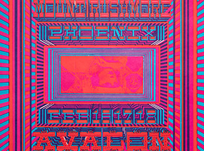 Art Print by William Henry - Youngbloods And Mount Rushmore - Avalon Ballroom - 1968
