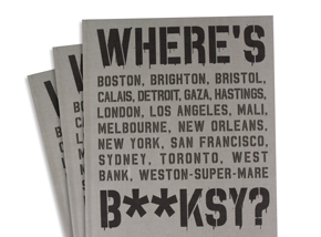 Book by Xavier Tapies - Where's Banksy?