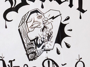 Original Art by Sheryo & The Yok - Detroit Never Dies