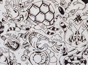 Original Art by Sheryo & The Yok - Tattoo Flash Sheet 14