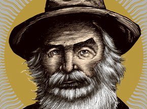 Art Print by Zeb Love - Walt Whitman - Standard Variant
