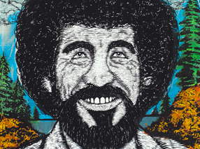 Art Print by Zeb Love - Bob Ross Standard Edition
