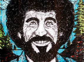 Art Print by Zeb Love - Bob Ross Variant Edition