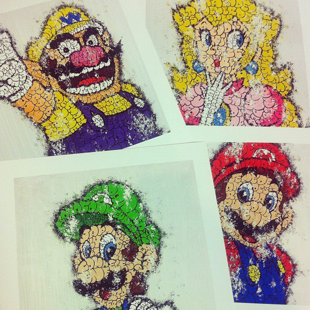 Super Mario Bros. by Tilt