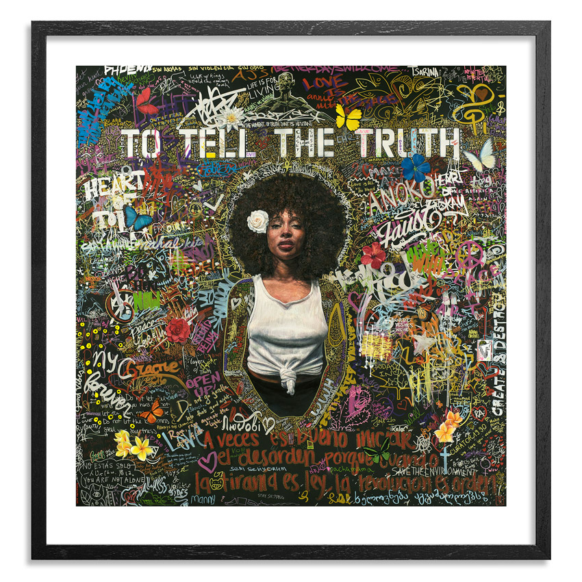 Tim Okamura Art Print - To Tell The Truth - 24 x 25 Inch Edition