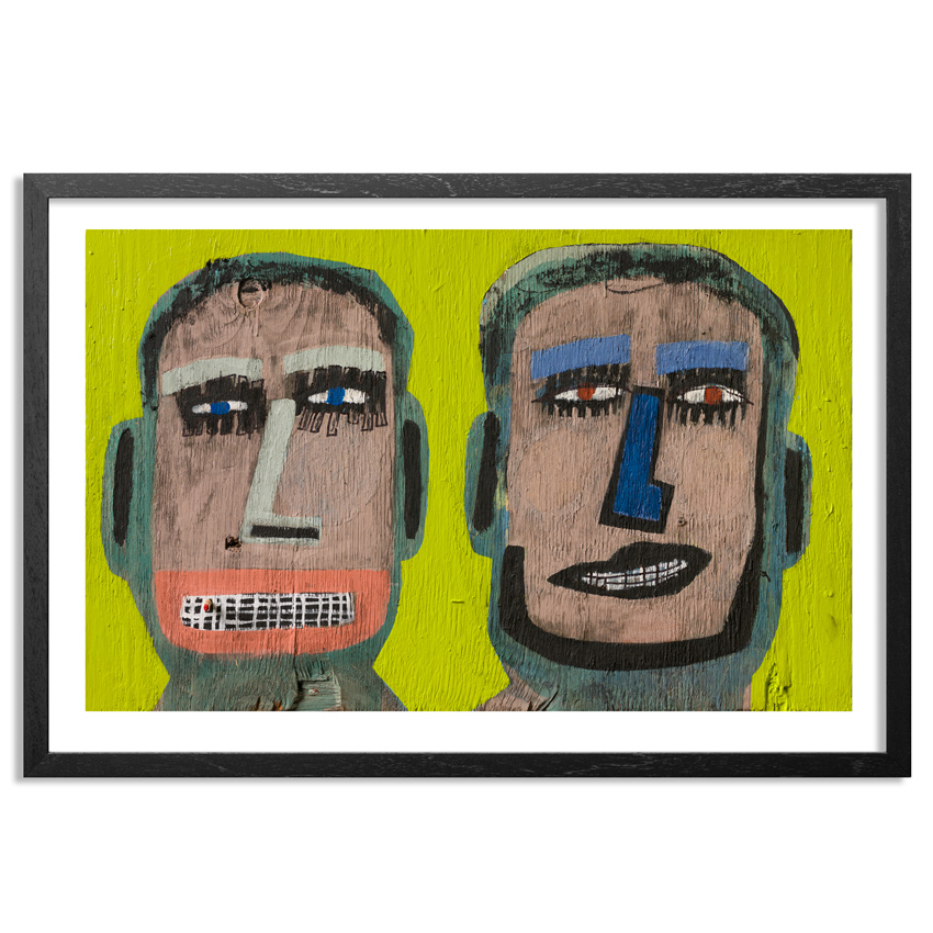 Tyree Guyton Art Print - Steve and Dave