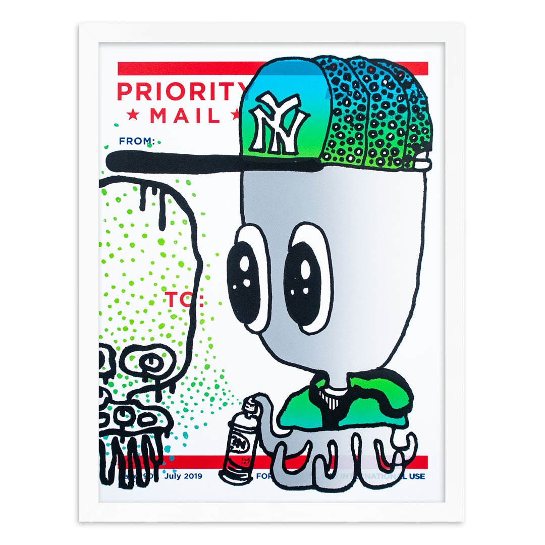 UFO 907 Art Print - Label 907 - Vol. III - Silver Variant