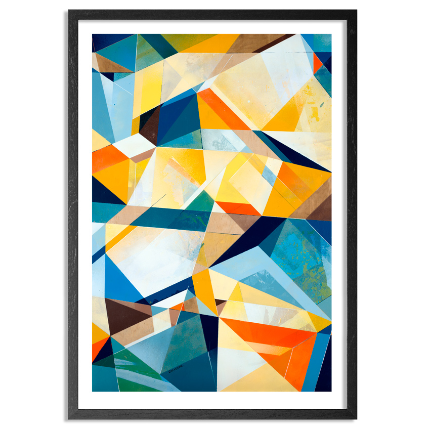Vans The Omega Art Print - Angles Of Elevation - Framed