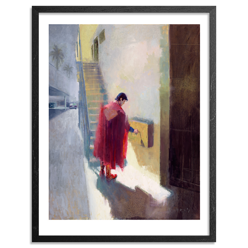 William Wray Art Print - Roommates - Hand-Embellished Edition