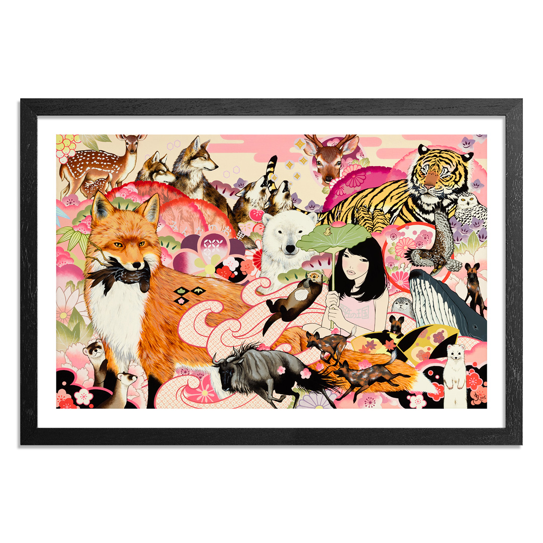 Yumiko Kayukawa Art Print - Everybody's Home - Limited Edition Prints