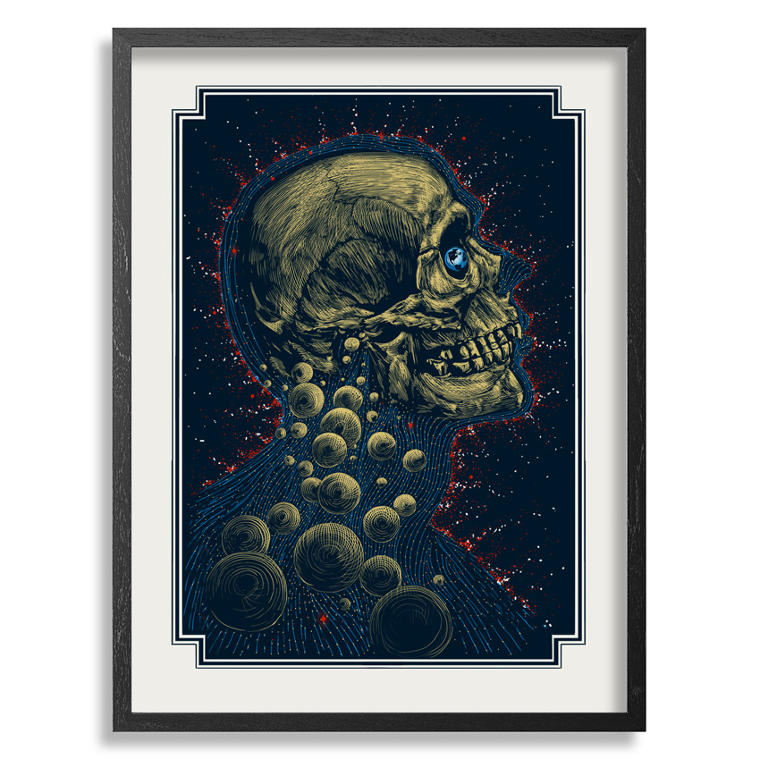 Zeb Love Art Print - New Age - White Edition