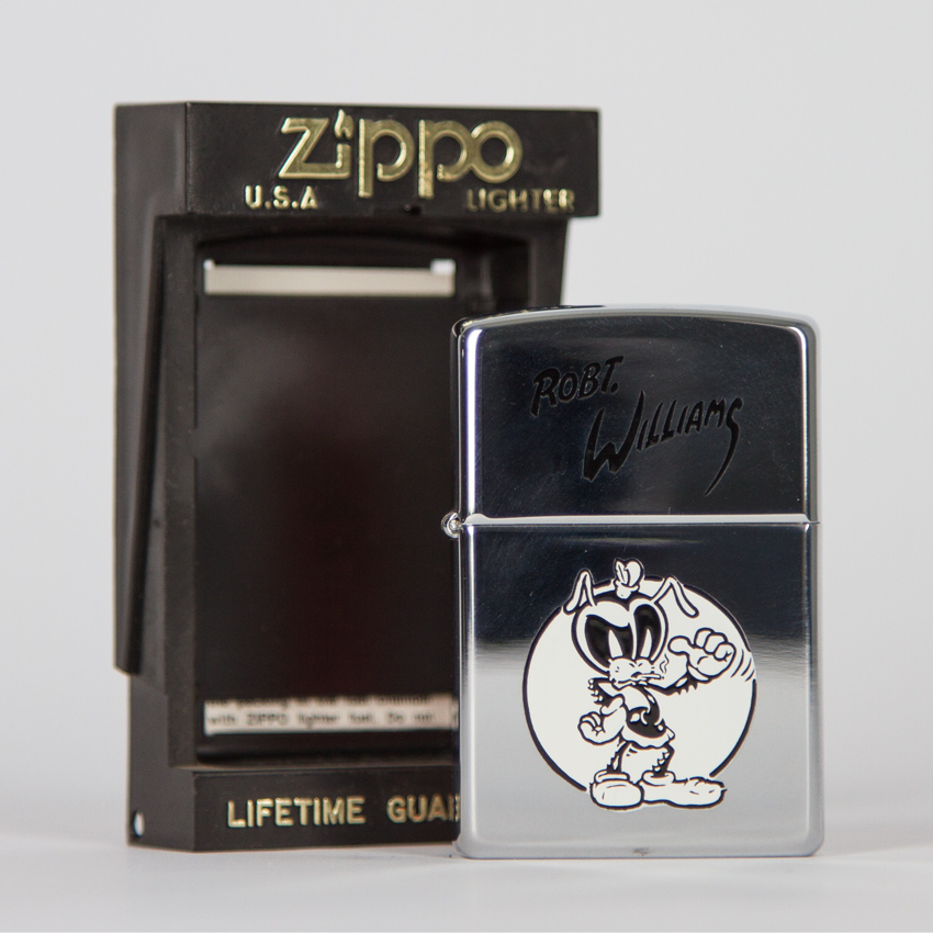 Zippo Art - Robert Williams - Coochie Cootie Lighter