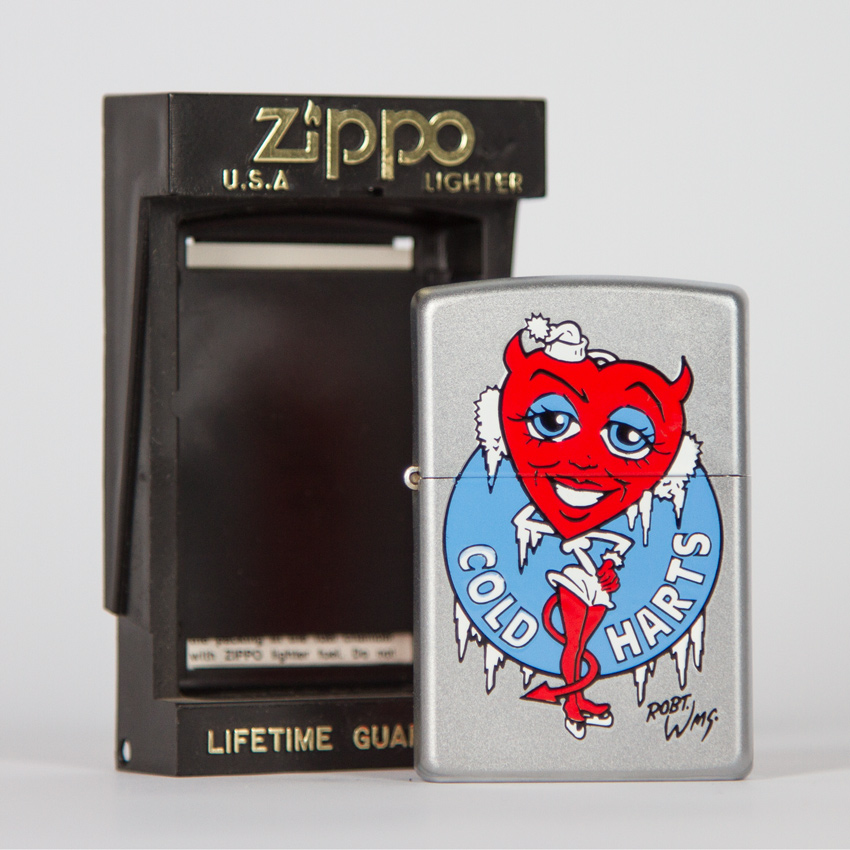 Zippo Art - Robert Williams - Cold Harts Lighter