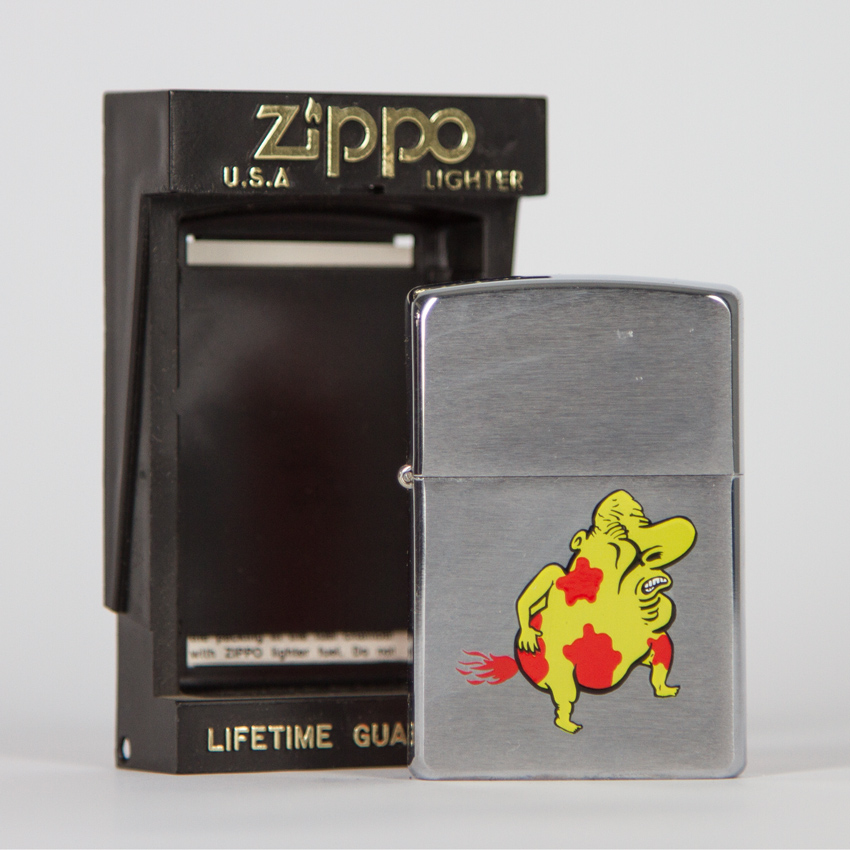 Zippo Art - Mark Mothersbaugh - Glubmanr Lighter